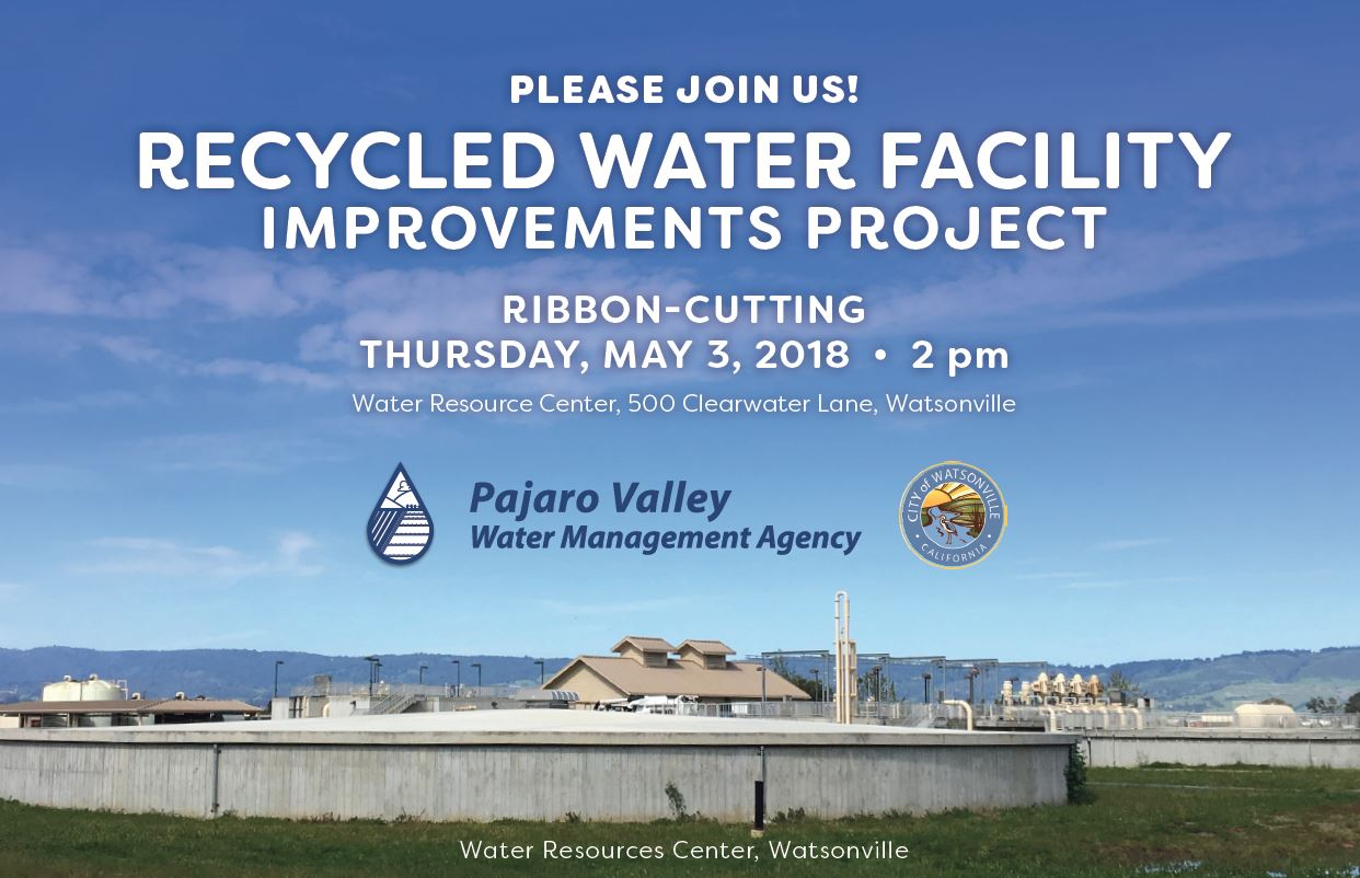 Recycled Water Facility Improvements Project Ribbon Cutting