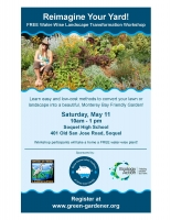 RE-IMAGINE YOUR YARD! WATER-WISE LANDSCAPE TRANSFORMATION WORKSHOP